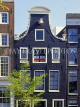 HOLLAND, Amsterdam, typical old gabled architecture, houses,  HOL679JPL