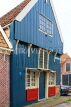 HOLLAND, Edam, typical Dutch house with wooden front, HOL823JPL