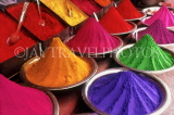 INDIA, Rajasthan, JAIPUR, colourful powders (used in festivals), IND1309JPL
