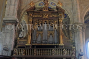 ITALY, Lombardy, COMO, Como Cathedral, interior, organ pipes, ITL2131JPL