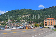 ITALY, Lombardy, COMO, Lake Como, lakeside view by the town centre, ITL2182JPL
