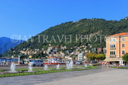 ITALY, Lombardy, COMO, town centre by the lakeside, ITL2150JPL