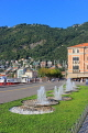 ITALY, Lombardy, COMO, town centre by the lakeside, ITL2151JPL