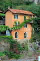 ITALY, Lombardy, LAKE COMO, lakeside scenery, village house, ITL2321JPL