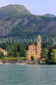 ITALY, Lombardy, LAKE COMO, lakeside scenery, villages and churches, ITL2313JPL