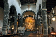 ITALY, Lombardy, Lake Como, BELLAGIO, San Giacomo Church, interior, ITL2281JPL