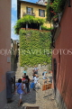 ITALY, Lombardy, Lake Como, BELLAGIO, narrow street, ITL2186JPL