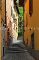 ITALY, Lombardy, Lake Como, BELLAGIO, narrow street, ITL2188JPL