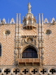 Italy, VENICE, St Mark's Square, Doge's Palace, architectural detail, ITL1779JPL