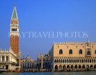 Italy, VENICE, St Mark's Square, Doge's Palace and Campanile (Bell Tower), ITL1759JPL