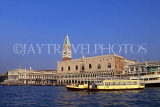 Italy, VENICE, St Mark's Square, Doge's Palace and Campanile, ITL1899JPL