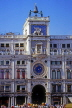 Italy, VENICE, St Mark's Square (San Marco), Torre dell'Orologio (clock tower),  ITL1837JPL