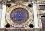 Italy, VENICE, St Mark's Square, Torre dell'Orologio (clock tower), clock face, ITL1662JPL