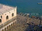 Italy, VENICE, St Mark's Square and Doge's Palace, view from the Campanile, ITL1698JPL