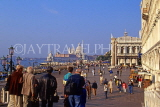 Italy, VENICE, St Mark's Square by the waterfront,  ITL1836JPL