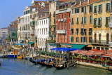 Italy, VENICE, The Grand Canal, buildings and gondolas, ITL1883JPL