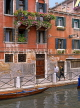 Italy, VENICE, Venetian architecture, along canal, ITL763JPL