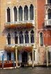 Italy, VENICE, Venetian architecture, along canals, ITL1668JPL