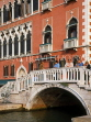 Italy, VENICE, Venetian architecture, and small bridge, ITL1688JPL