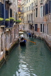 Italy, VENICE, Venetian architecture, narrow canals and gondola, ITL1857JPL
