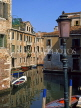 Italy, VENICE, Venetian architecture and canal scene, ITL713JPL