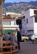 MADEIRA, Funchal, Old Town, people chatting, MAD196JPL