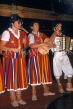 MADEIRA, Funchal, musicians in traditional costume, performing, MAD1115JPL