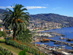 MADEIRA, Funchal, town and marina view, MAD1000JPL