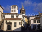 MADEIRA, Funchal, town centre and Cathedral (Se) tower, MAD1009JPL