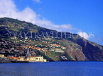 MADEIRA, Funchal, view from sea, MAD147JPL