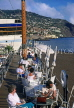 MADEIRA, Funchal, waterfront cafe scene, MAD139JPL