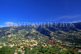 MADEIRA, hillside villages, view from Pico Dos Barcelos, MAD168JPL
