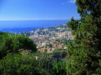 MADEIRA, view for Funchal (from Funchal Botanical Gardens), MAD130JPL