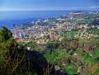 MADEIRA, view for Funchal (from Funchal Botanical Gardens), MAD133JPL