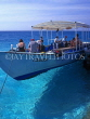 MALDIVE ISLANDS, boat with tourists, preparing for diving trip, MAL451JPL