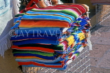 MEXICO, Yucatan, COZUMEL, Mexican woven blankets, MEX502JPL
