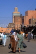 MOROCCO, Marrakesh, Medina (old town) street and people, MOR150JPL