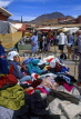MOROCCO, Tafroute, weekly souk, clothes stall, MOR26JPL