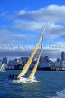 NEW ZEALAND, North Island, AUCKLAND, sailing in Waitemata Harbour, NZ44JPL