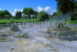 NEW ZEALAND, North Island, ROTORUA, Government Gardens, thermal activity, NZ95JPL