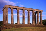 SCOTLAND, Edinburgh, Calton Hill, National Monument, SCO728JPL