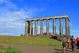 SCOTLAND, Edinburgh, Calton Hill, National Monument, SCO840JPL