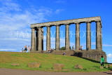 SCOTLAND, Edinburgh, Calton Hill, National Monument, SCO841JPL