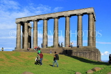 SCOTLAND, Edinburgh, Calton Hill, National Monument, SCO842JPL