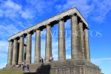SCOTLAND, Edinburgh, Calton Hill, National Monument, SCO844JPL
