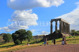 SCOTLAND, Edinburgh, Calton Hill, National Monument, SCO846JPL