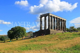 SCOTLAND, Edinburgh, Calton Hill, National Monument, SCO847JPL