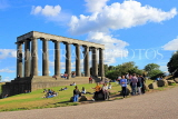 SCOTLAND, Edinburgh, Calton Hill, National Monument, SCO848JPL