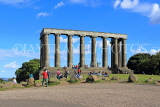 SCOTLAND, Edinburgh, Calton Hill, National Monument, SCO849JPL