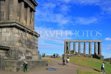 SCOTLAND, Edinburgh, Calton Hill, National Monument, SCO851JPL